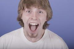Una qué emoción imagen de archivo libre de regalías