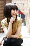 Una ragazza cinese Fotografie Stock Libere da Diritti