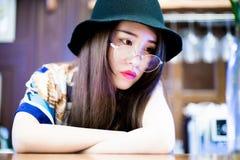 Una ragazza cinese Fotografie Stock