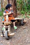Una ragazza dei hilltribes Fotografia Stock