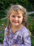 Una ragazza di quattro anni Fotografia Stock Libera da Diritti