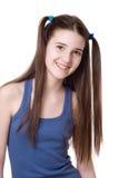 Una ragazza di tredici Fotografia Stock