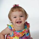 Una ragazza felice Fotografia Stock Libera da Diritti
