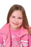 Una ragazza sorridente di dieci anni Immagini Stock Libere da Diritti