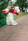Una ragazza in un Kurta di cuoio Immagine Stock