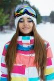 Una ragazza in vestiti di sport Immagine Stock