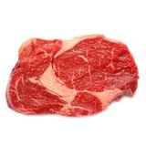 Una rebanada de carne de vaca (Entrecote) Foto de archivo libre de regalías