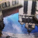 Una reflexión como manera de visión Fotos de archivo