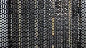Una rejilla del metal Imagen de archivo