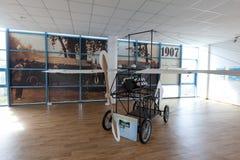 Una reproducción del avión construido por Aurel Vlaicu imagen de archivo libre de regalías