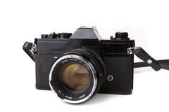 Una retro macchina fotografica da 35 millimetri Fotografie Stock Libere da Diritti