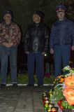 Una reunión festiva y un concierto en 9 pueden 2017 en la región de Kaluga de Rusia Imagenes de archivo