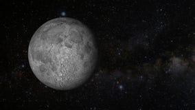 Una revolución animada de la luna libre illustration