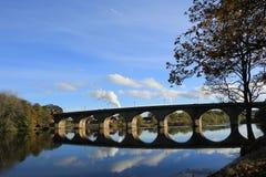 Una riflessione del ponte Fotografia Stock Libera da Diritti
