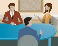 Una riunione d'affari Immagini Stock