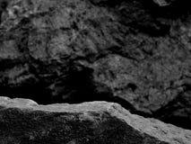 Una roca de Forgeground para un estante de exhibición foto de archivo libre de regalías