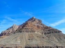 una roca en el Gran Cañón fotografía de archivo
