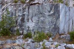 Una roccia di marmo, bella struttura Immagini Stock Libere da Diritti