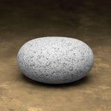 Una roccia o una pietra Fotografie Stock