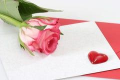 Una Rosa Fotografie Stock Libere da Diritti