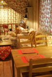 Una sala de estar Foto de archivo