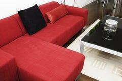 Una sala de estar Fotografía de archivo libre de regalías