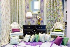 Una sala de estar Imagen de archivo libre de regalías