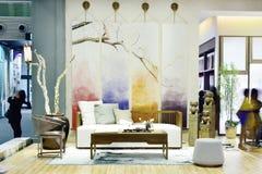 Una sala de estar Fotos de archivo