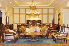 Una sala de estar Imagenes de archivo