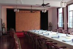Una sala riunioni del Direttore di guerra fotografie stock