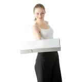 Una salida de la pizza Imagen de archivo libre de regalías