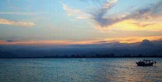 Una salida del sol de Brazillian fotografía de archivo libre de regalías