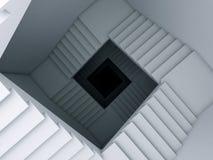 Una scala all'infinità. Fotografia Stock