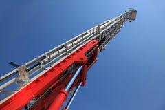 Una scala di grande fuoco Fotografie Stock Libere da Diritti
