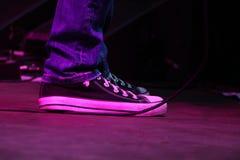 Una scarpa Fotografia Stock Libera da Diritti
