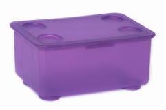 Una scatola di plastica Immagini Stock Libere da Diritti