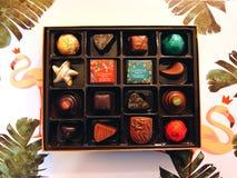 Una scatola di regalo di cioccolato di Godiva fotografia stock