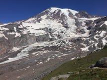 Una scena dal Mt più piovoso nello Stato del Washington Fotografie Stock Libere da Diritti