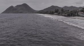 Una scena dall'isola della Martinica fotografia stock