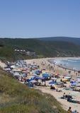Una scena della spiaggia Immagini Stock Libere da Diritti