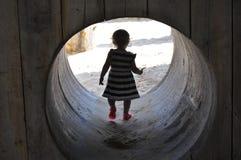 Una scoperta meravigliosa dei bambini fotografia stock