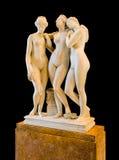 Una scultura di tre tolleranze Immagini Stock Libere da Diritti