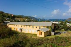 Una scuola nei Caraibi Fotografie Stock