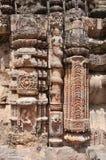 Una señora encapuchada de la serpiente y pilares hermosos Imágenes de archivo libres de regalías