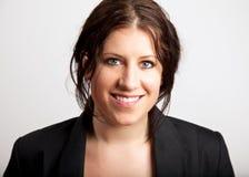 Una señora sonriente Executive Fotos de archivo libres de regalías