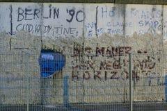 Una secante del muro di Berlino Fotografia Stock Libera da Diritti