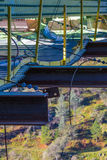 Una sección de la modificación del puente de Foresthill Fotos de archivo