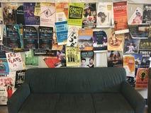 Una sedia dei manifesti Fotografia Stock