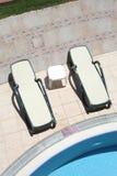 Una sedia di due vapori Fotografie Stock