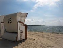 Sedia di spiaggia Fotografie Stock